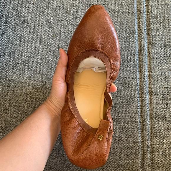 Yosi Samra wrap ballet shoes